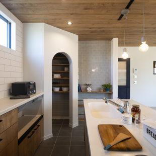 パントリー 注文住宅のトミオの家 施工例