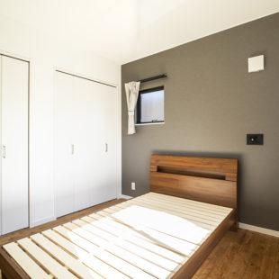 寝室 注文住宅のトミオの家 施工例