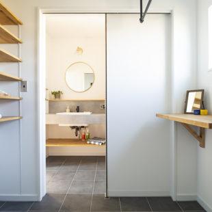 洗面台 注文住宅のトミオの家 施工例