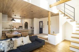 注文住宅のトミオの家 施工例