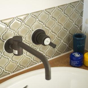 施工事例 洗面台 tomioの家