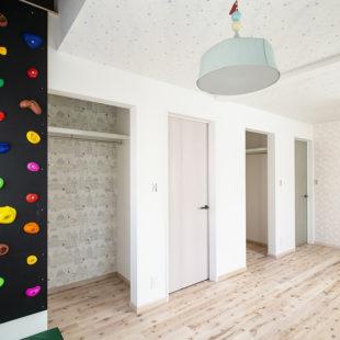 施工事例 ボルダリング 洋室  tomioの家
