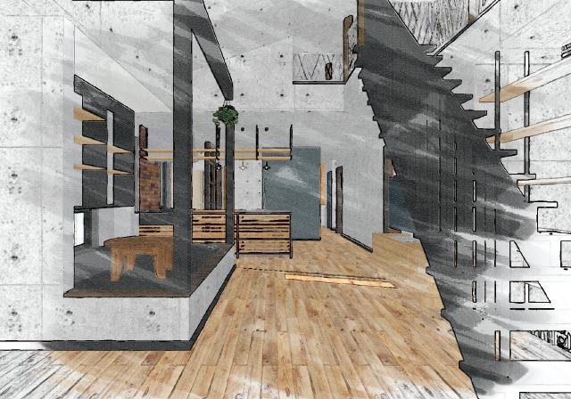 リビング:新築完成見学会 千葉の注文住宅 トミオ