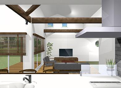 ガレージ2:新築完成見学会 千葉の注文住宅 トミオ